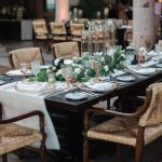 Cabo del Sol Mexican hacienda wedding reception