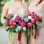 Garden style Cabo wedding florist