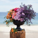 lavender-peach-ceremony-flowers