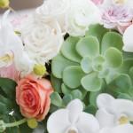 succulent-orchid-centerpiece