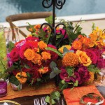 tropical-mokara-rose-centerpiece